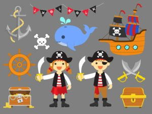 Ahoy Matey Birthday Invitation
