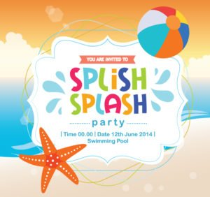Splish Splash Birthday Invitation